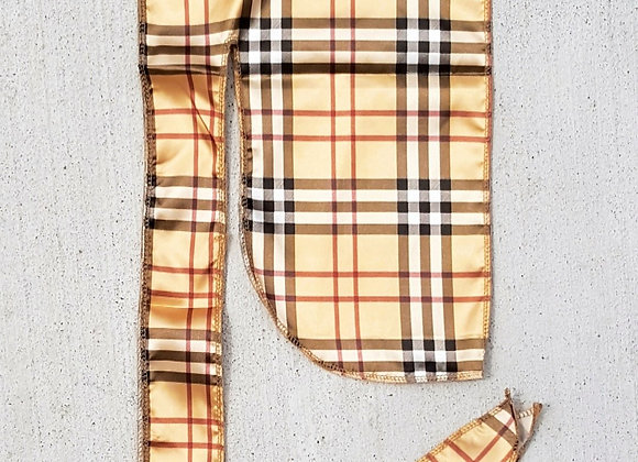 Burberry Silk Durag (Click here for more styles)
