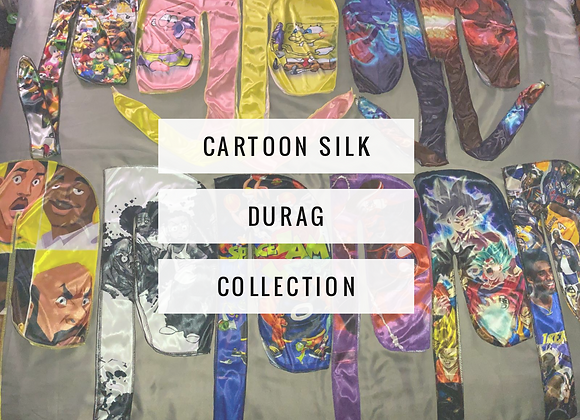 Cartoon Silk Durags (click here for more styles)