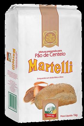 MISTURA PREPARADA PARA PAO DE CENTEIO MARTELLI 1KG