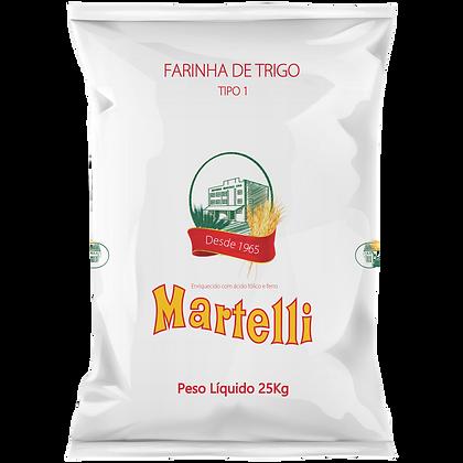 FARINHA DE TRIGO MARTELLI TIPO 1 25KG RB