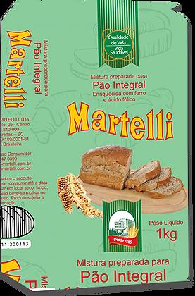 MISTURA PREPARADA PARA PÃO INTEGRAL MARTELLI 1KG