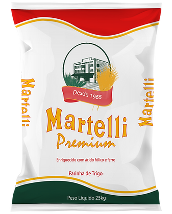 FARINHA DE TRIGO MARTELLI TIPO 1 PREMIUM 25KG