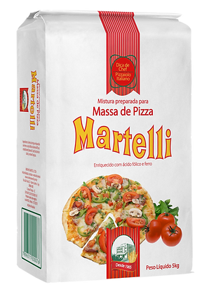 MISTURA PREPARADA PARA PIZZA MARTELLI 5KG