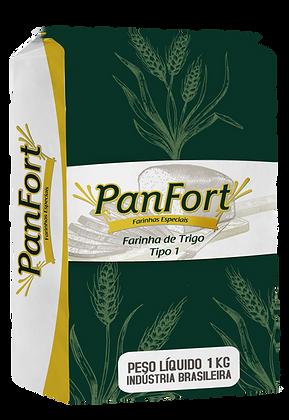 FARINHA DE TRIGO PANFORT TIPO 1 1KG