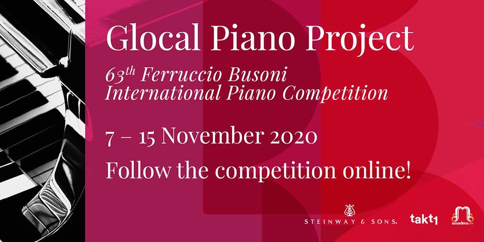 Busoni Piano Competition - Glocal Piano Project