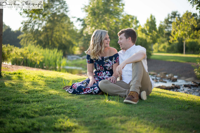Atlanta Engagement Photographer - Rylee and Austin