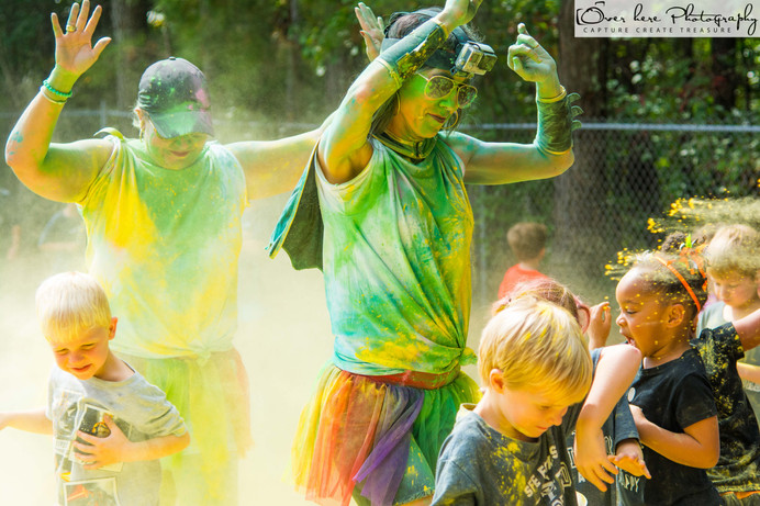 Shallowford Falls Elementary Color Run