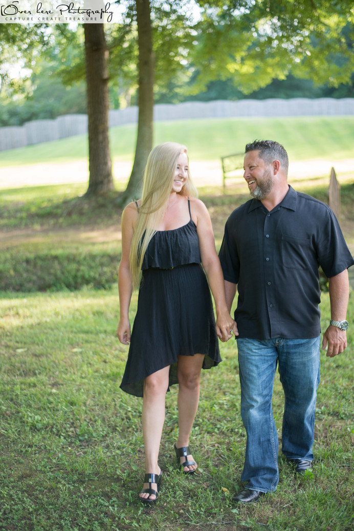 Brooke and James Engagement at Silver City Farm