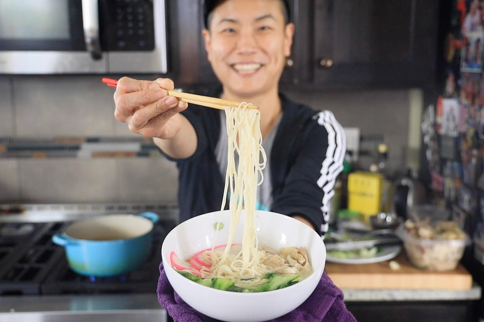 Dad's Chicken Noodle (Noo Noo) Soup in an Instant Pot