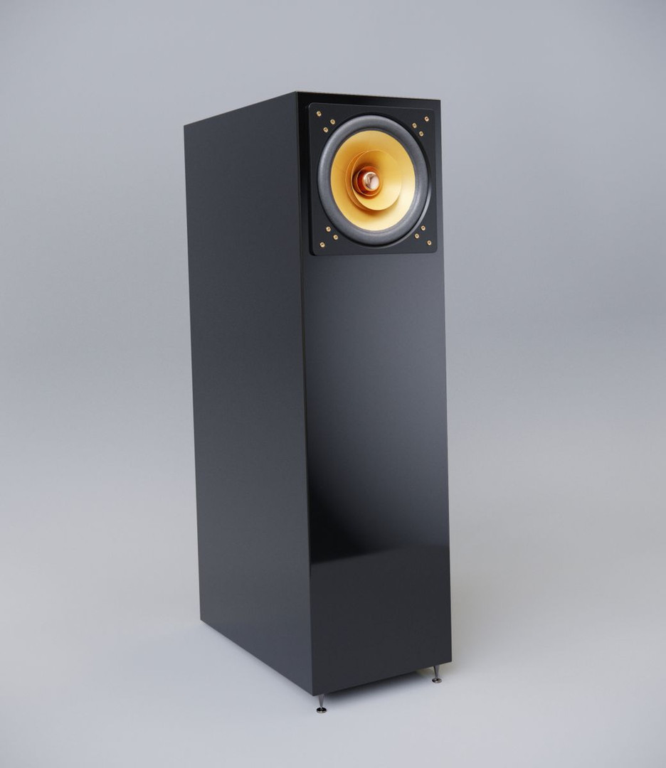 Cube Audio  Nenuphar loudspeakers