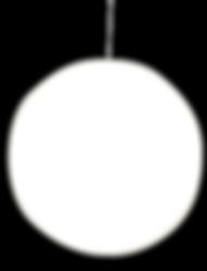 Round Hanging Sign