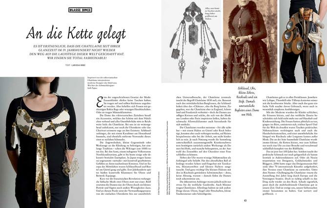 Work featured in Handmade Kultur Magazine (Germany, Austria, Switzerland)