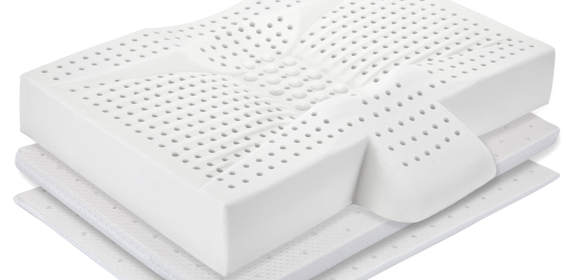 LumaLife Luxe Low Profile Orthopedic Pillow, Adjustable Height with Thinserts™