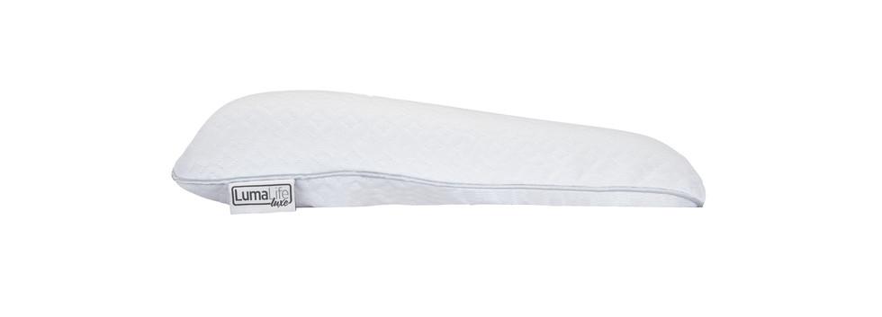 Flat adjustable contour pillow