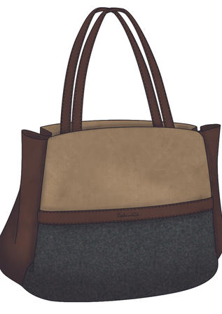 Concept Sketching - Splendid Handbags