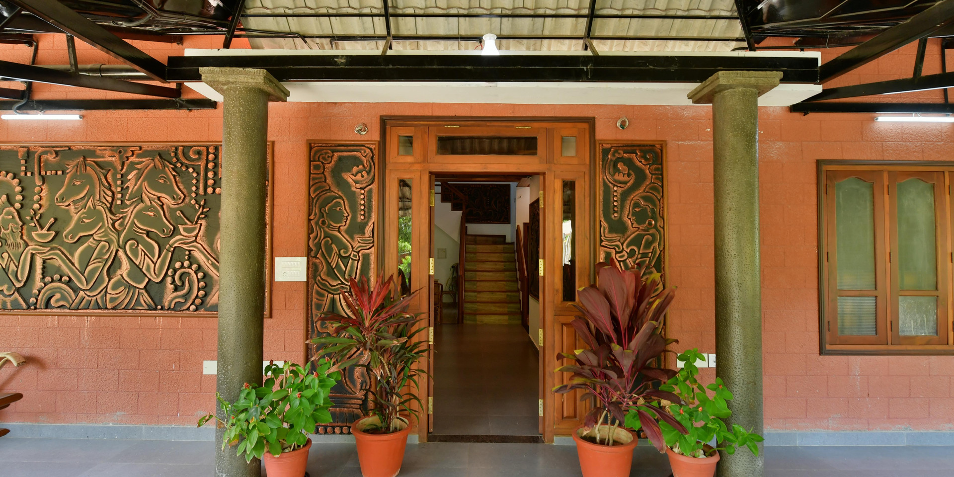 Ayurveda Main Door