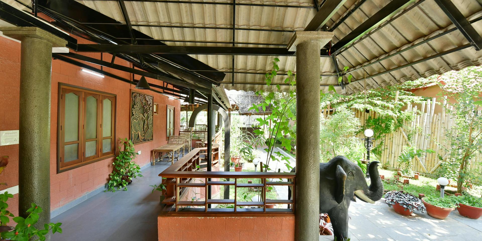 Ayurveda Sitout Garden View