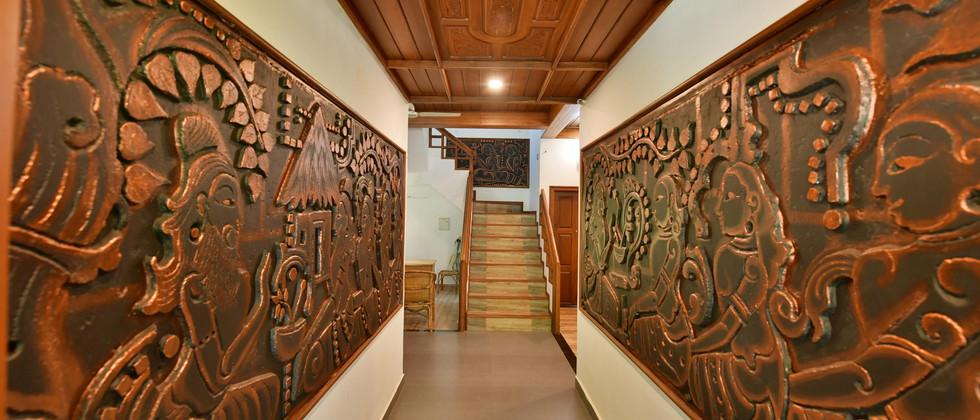 Ayurveda Lobby Entrance