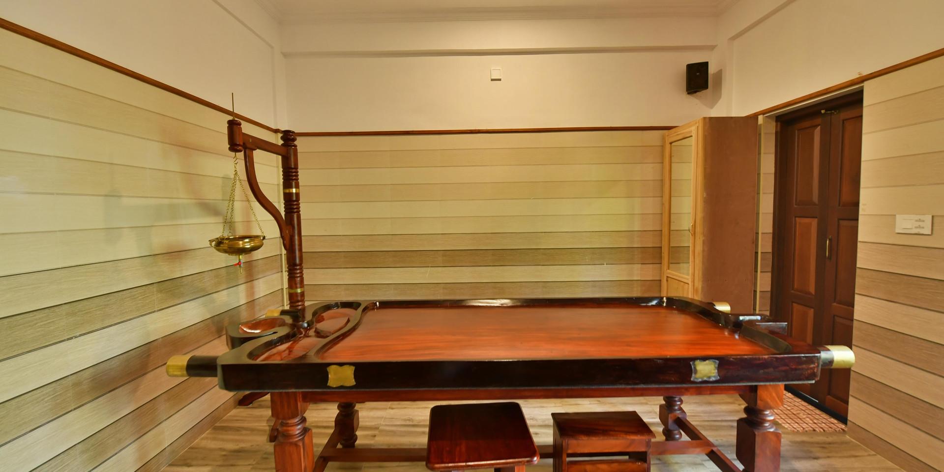 Ayurveda Treatment Room
