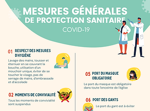 MESURES GENERALES DE PROTECTION SANITAIR