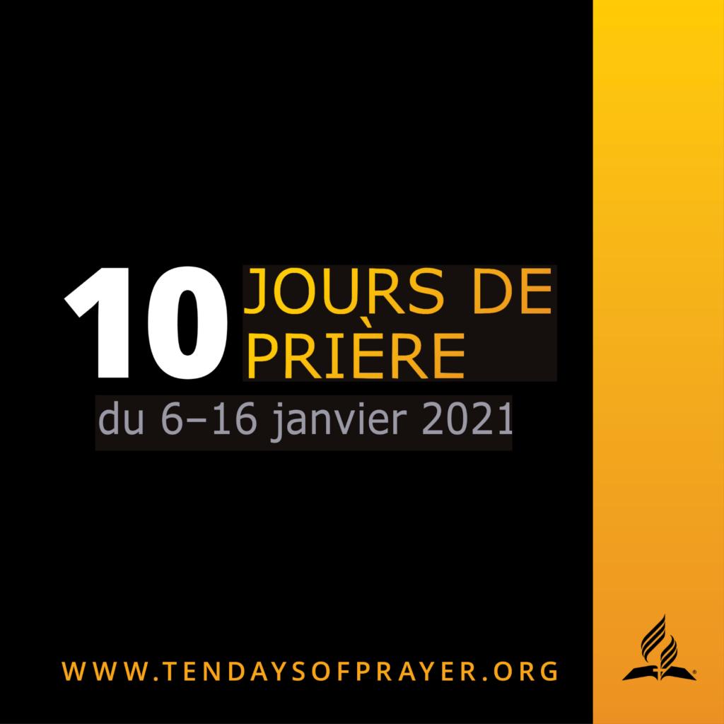10 jours de prière 2021