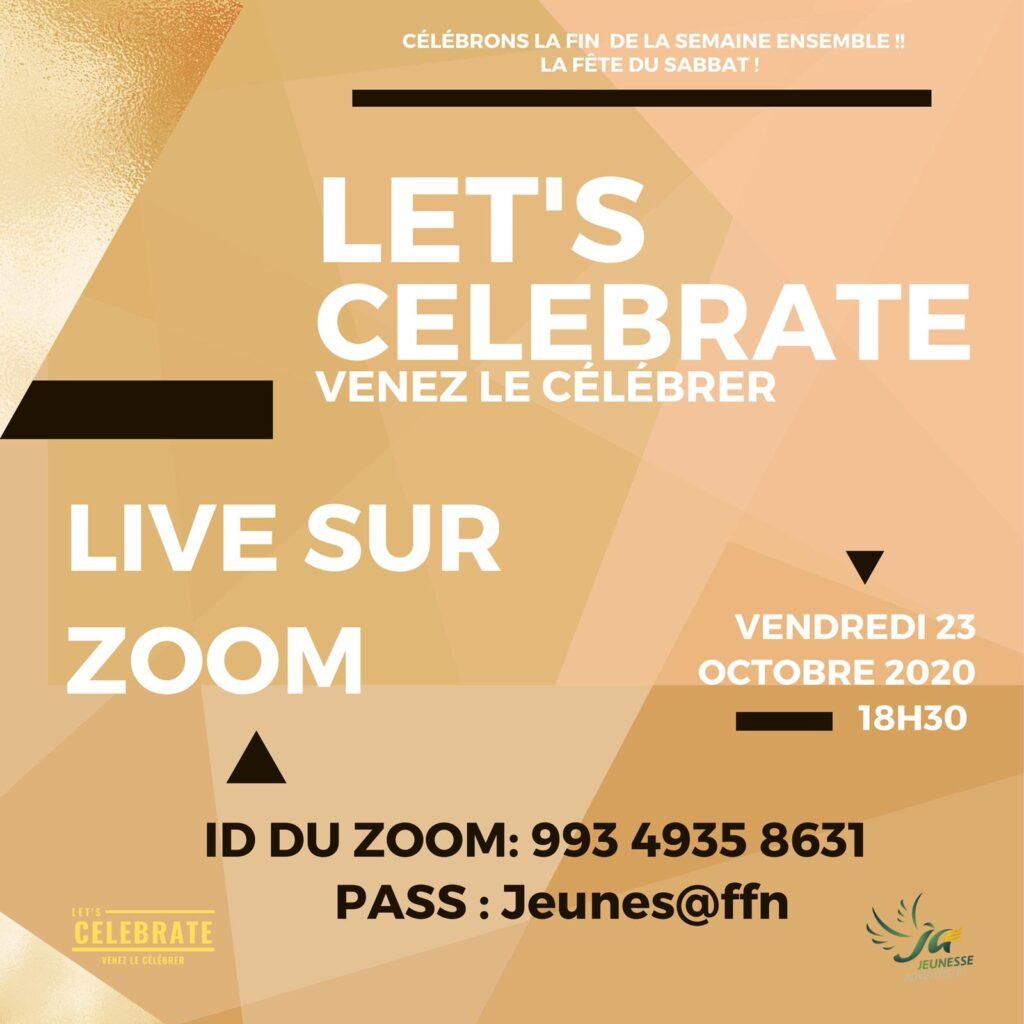Let's Celebrate 23-10-20