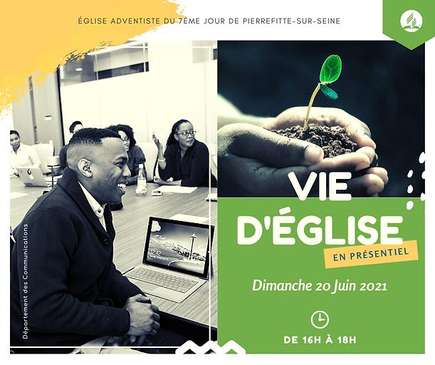 Vie d'église à Pierrefitte - 20 juin 202