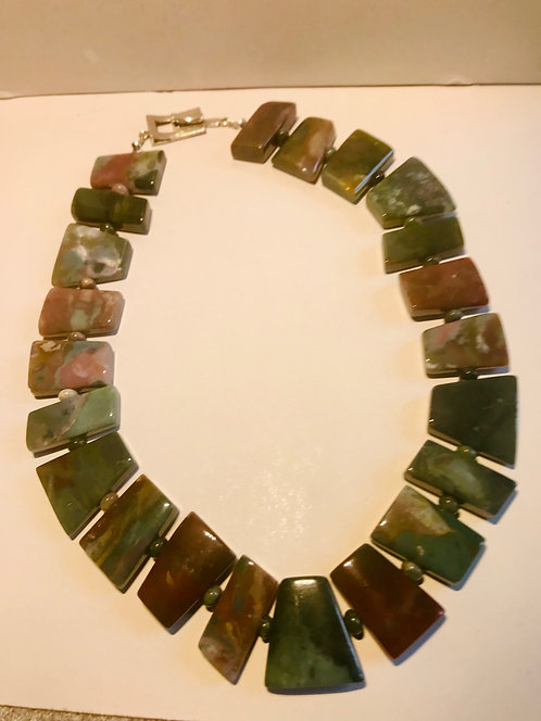 Bloodstone Agate Necklace