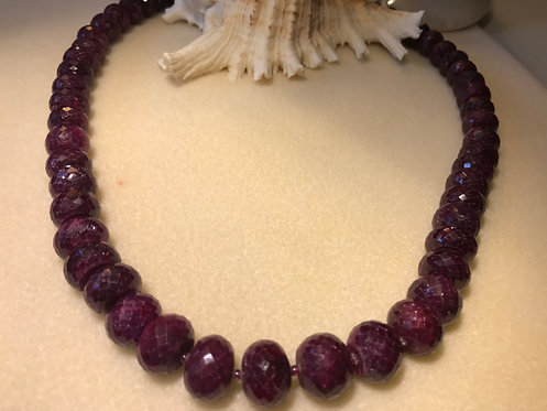 Burmese Ruby Necklace