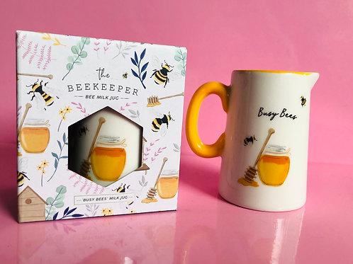 Busy Bee Milk Jug