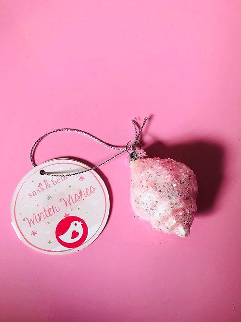 Pink Shell Decoration