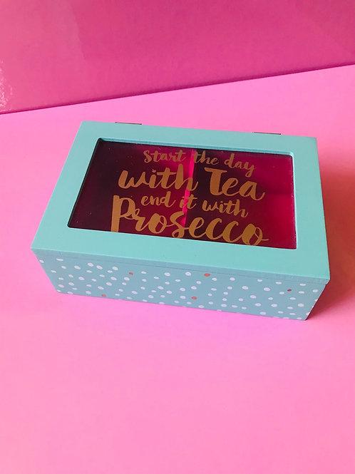 Tea then Prosecco box