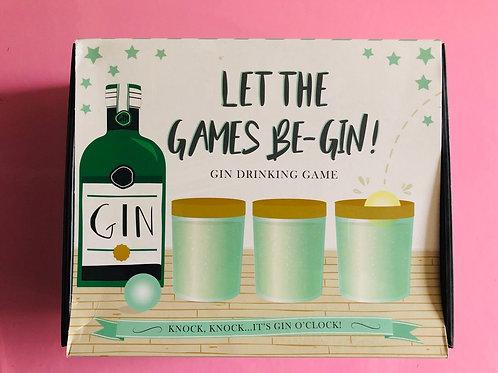 Gin Drinking Game