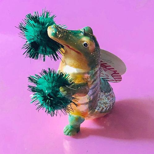 Priscilla Pom Pom Alligator