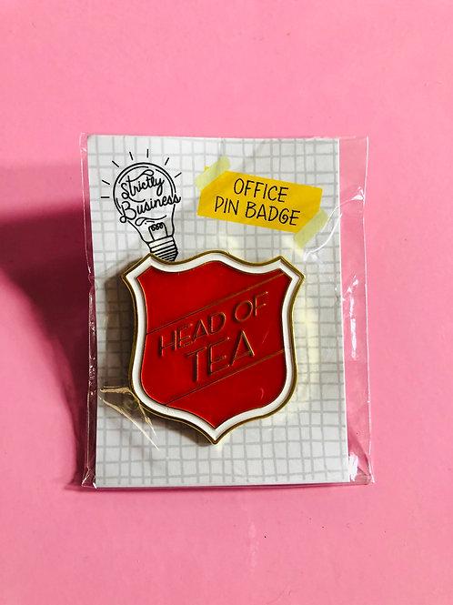 Office Pin Badge - Tea