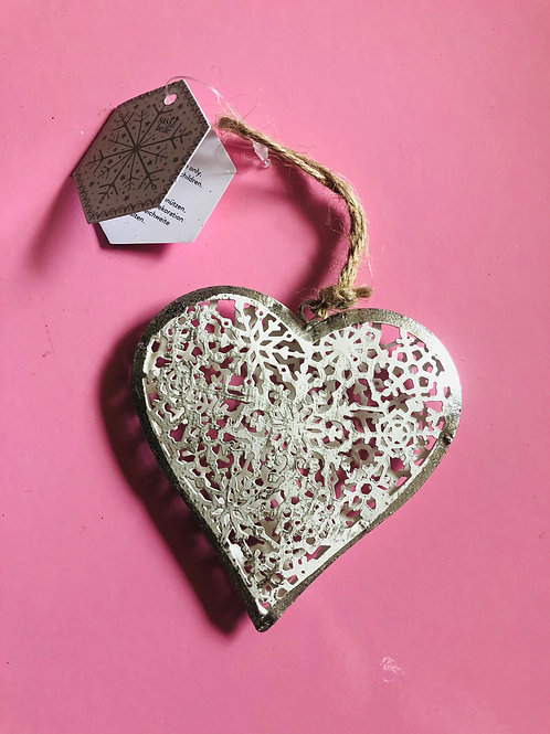 Lace Heart Decoration