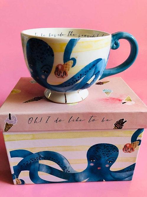 Octopus Teacup