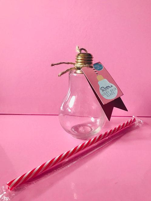 Retro Lightbulb Glass