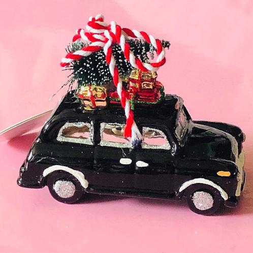 Black Cab Decoration