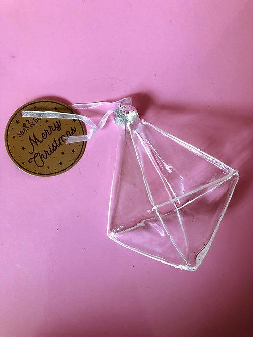 Glass Diamond Decoration