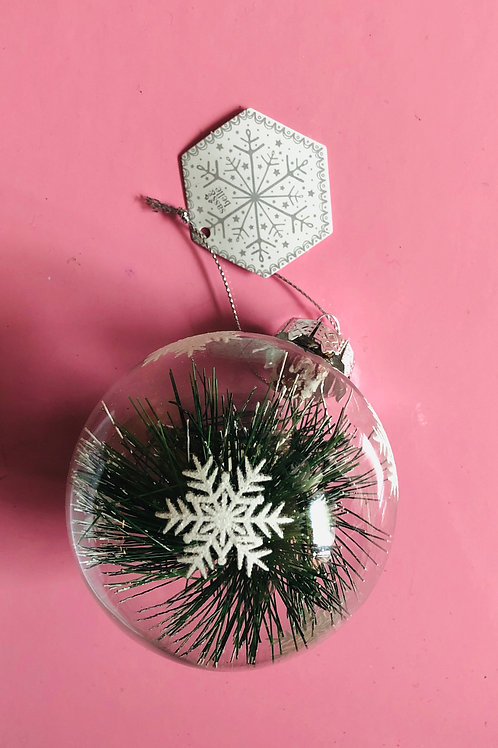 Glass Fir Bauble
