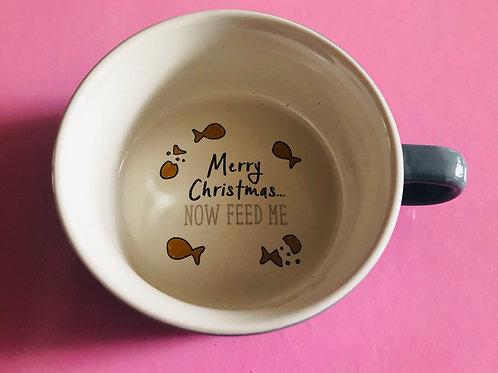 Christmas Cat Bowl