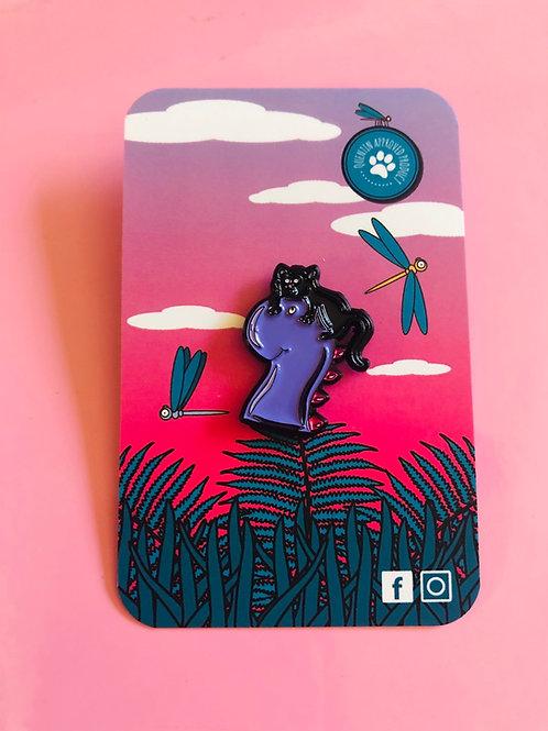 Dino Cat Pin