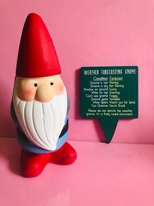 Weather Forecasting Gnome (red hat)
