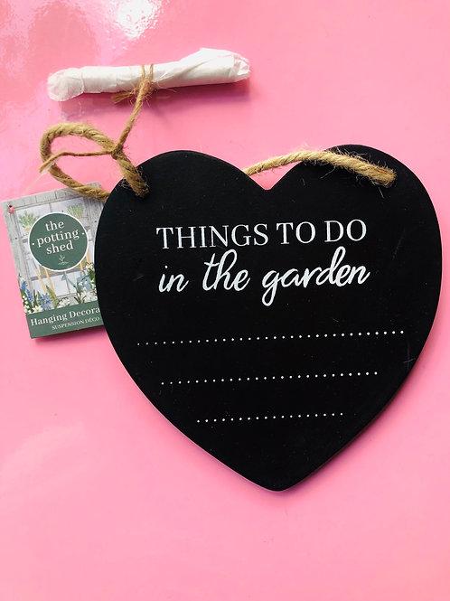 Garden Slate Heart (1)