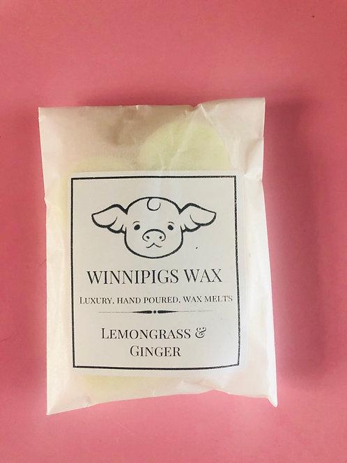 Lemongrass and Ginger Wax Melts