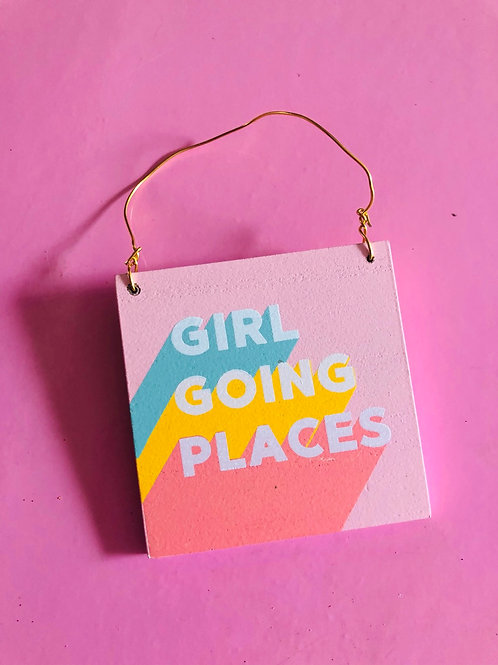 Girl Going Places