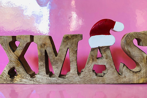 Freestanding Xmas Sign
