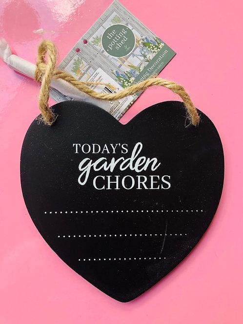 Garden Slate Heart (3)