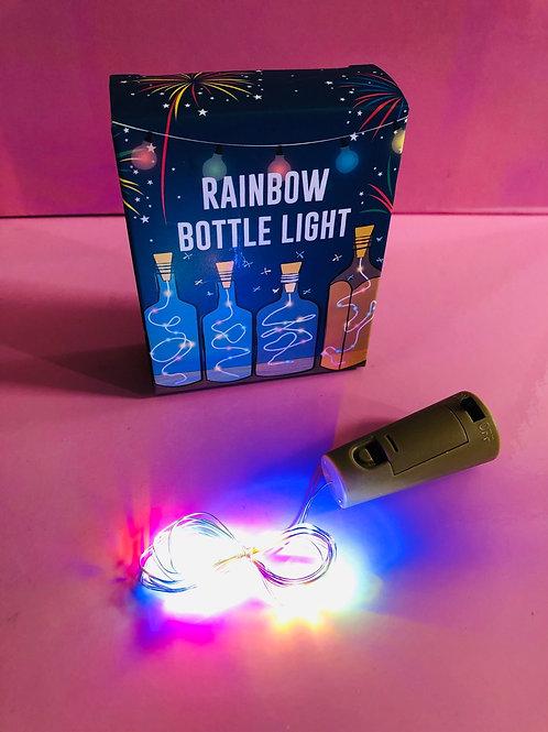 Rainbow Bottle Stopper Light